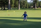 Finished with my putting practice