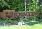 Foxwood Entrance Sign