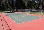 One of the tennis courts at Rec-1